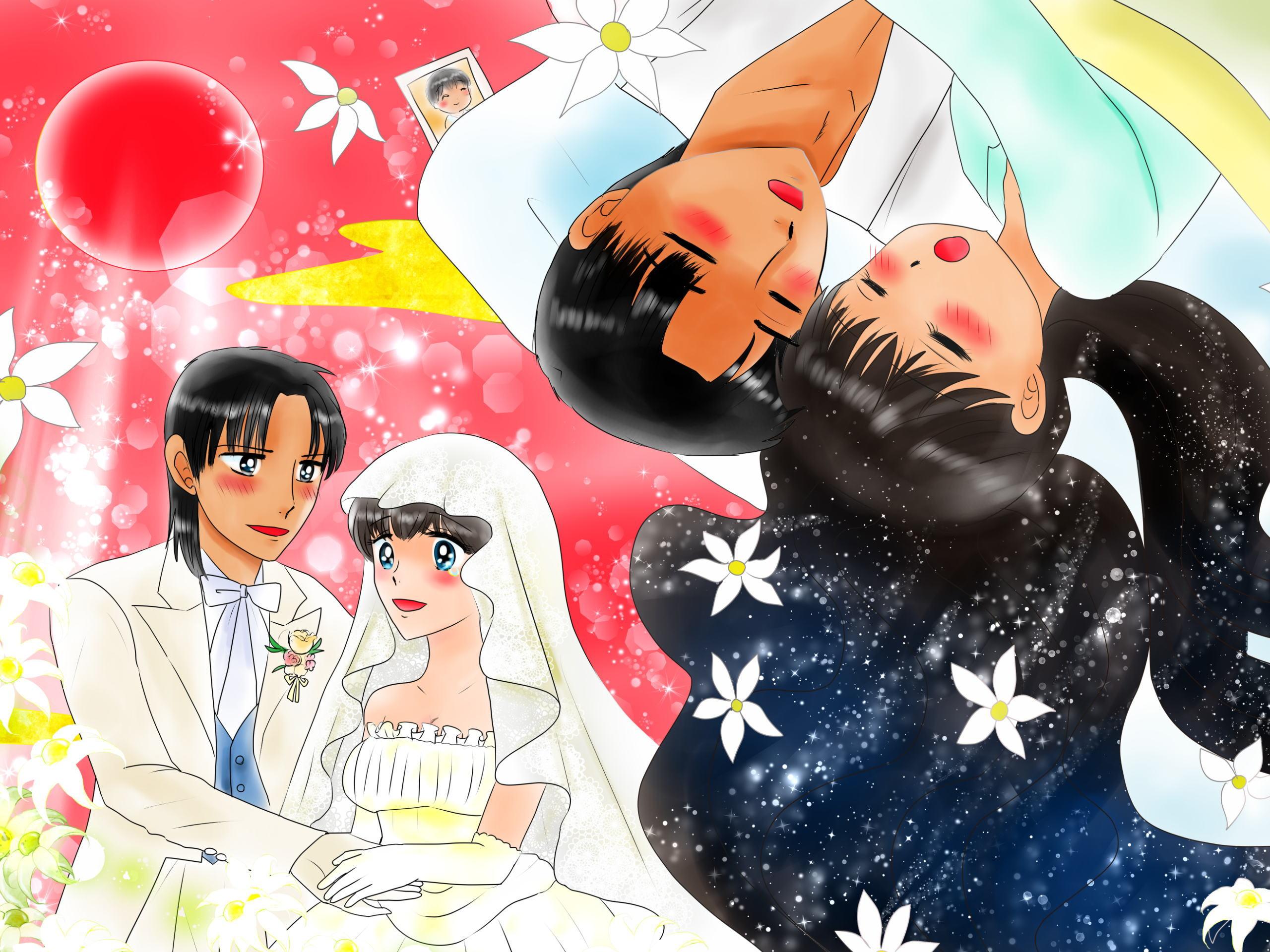 恋の魔法とおまじないカレンダー 壁紙 福娘童話集