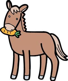 馬の友だち