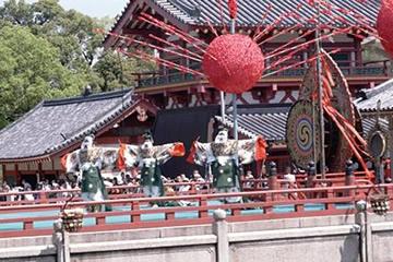 四天王寺の聖霊会の舞楽